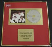BOYZONE - CD single Award - FATHER AND SON